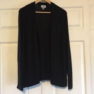 Old Navy Cardigan Sweater Black XXL